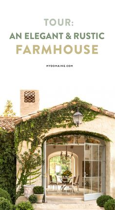 A gorgeous and chic home inspired by a French farmhouse
