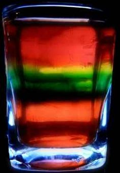 Layered Drink, Drinks Glow, Adult Drinks, B S Drinks, Drink Recipes ...