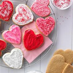 20 Heart-Shaped Recipes                     -                                                   Treat your sweetheart this Valentine's Day with these cute heart-shaped recipes, from cookies, brownies and pies to pizzas and potpies.