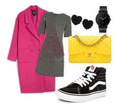 """""""lobistreet"""" by sarahscheinfeld on Polyvore featuring Monki, Betsey Johnson, Warehouse, Vans, Chanel and South Lane"""