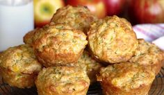 Cheesy Lunch Muffins - a Julie Goodwin recipe - wrap in single serves and freeze in a sealed container for up to three months