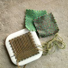 Learn to weave on a pin loom