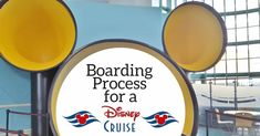 Boarding Process for Disney Cruise (Port Canaveral)