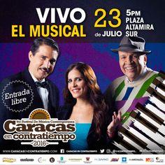 Festival Caracas en Contratiempo 2016 inicia programación  con dos musicales en la Plaza Altamira Sur http://crestametalica.com/festival-caracas-contratiempo-2016-inicia-programacion-dos-musicales-la-plaza-altamira-sur/ vía @crestametalica