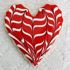 Simple Valentines Day Cookie tutorial