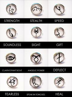 Mortal Instruments Rune Silver Ring YOUR CHOICE by Kawaiistarz Mortal Instruments Runes, Immortal Instruments, Acessórios Steampunk, Fandoms Unite, Cassandra Clare Books, Clace, The Dark Artifices, City Of Bones, Percy Jackson