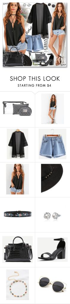 """www.romwe.com-XLVII-2"" by ane-twist ❤ liked on Polyvore featuring romwe, outfits and sumer"