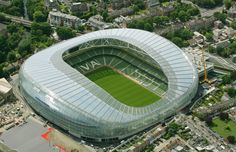Aviva Stadium - Shamrock Rovers, Ireland