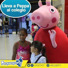 Peppa puede sorprender a tu peque en clase llevala a su colegio y regalale la experiencia.  #pequesparty #PeppaPig #peppa #diversion #entretenimiento #animacion #juegosinteractivos #niños #maracaibo #igersmaracaibo #eventosmaracaibo