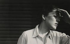 Saul Leiter, Untitled (Portrait of a woman), nd