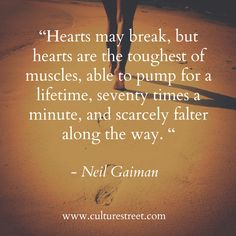 Culture Street | Quote of the Day from Neil Gaiman