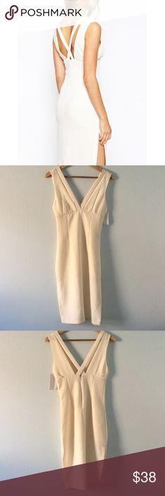 NWT BCBGeneration strap midi dress with side slits NWT BCBGeneration Dresses Midi