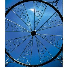 achla designs rhapsody 65 x 65 ft wrought iron pavilion gazebo achla designs wrought iron