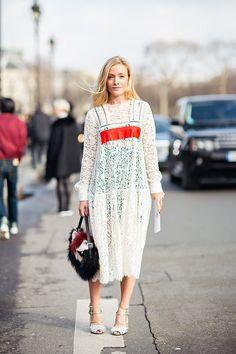 laced overlay / Paris #streetstyle / #MIZUstyle