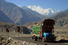 Karakoram Highway, connecting China and Pakistan