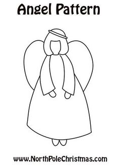 free embroidery... Angel Pattern
