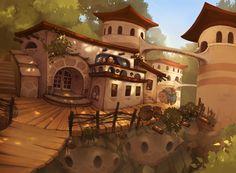 The Teahouse  by *Etoli