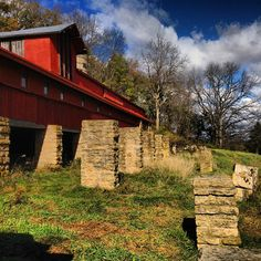 The Midway Barn at #Taliesin #FrankLloydWright #Architecture #Design #Rustic #Wisconsin