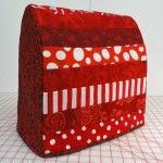 Kitchen Aid Mixer cover tutorial-- Cute design...making this for my mixer!