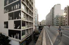 """Galeria - Arte e Arquitetura: """"Empena Viva"""" por Nitsche Projetos Visuais - 3"""