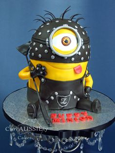 S & M Minion - Cake by curiAUSSIEty custom cakes