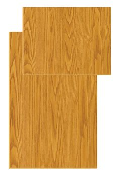 This is a Wood Grain door panel for a Norcold NA8LXR Refrigerator. A door panel slides into the grooves of the door frame to provide a clean look for the refrigerator door.
