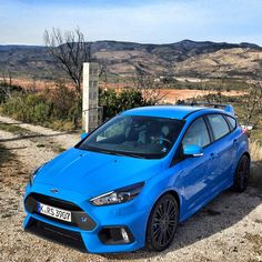 2016 Ford Focus RS www.villaford.com