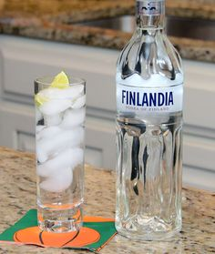 INGREDIENTS 1-1/2 oz Finlandia® Classic 4 oz tonic water  HOW TO MAKE IT Add ingredients to highball glass and stir. Garnish with lime wedge.