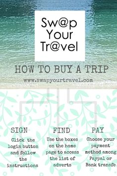 How to buy a trip on swapyourtravel.com