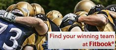 Find your winning team at FitBook