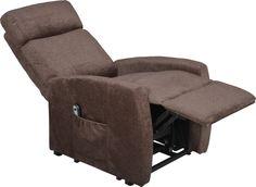 Nouveau fauteuil releveur électrique 1 moteur en relaxation, CALVIN avec revêtement en velours effet chiné, pour un effet soyeux. Ce fauteuil releveur incorpore un large appui-tête. Le repose jambe se lève jusqu'à l'horizontale pour une inclinaison maximale du dossier de 133°. Ce fauteuil releveur CALVIN offre à la fois une assise sans effort et en toute sécurité, une relaxation en position allongée.