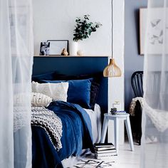 Winter Textures as styled by Fiona Michelon for August edition of homesplusmag has us eager to dive into big blues! Using Porter's Paints in colour Mist and a bed head in colour Atlas was a great way of anchoring the theme and focus
