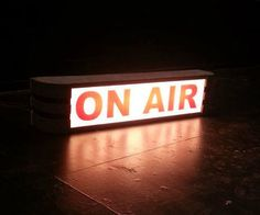 "Theatrical ""ON AIR"" Sign"