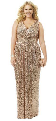 cutethickgirls.com gold plus size dresses (02) #plussizedresses