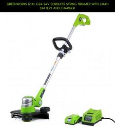 Greenworks 12 in. G24 24V Cordless String Trimmer With 2.0Ah Battery And Charger #charger #and #products #drone #fpv #camera #with #racing #cordless #kit #technology #trimmers #plans #battery #tech #hedge #shopping #parts #gadgets