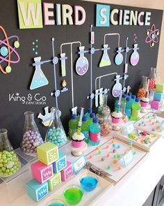 9 ideeën voor een Mad Science kinderfeestje