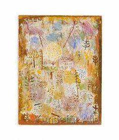 Paul Klee - Landschaft zw. Frühling und Winter