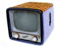 """TV """"Start 3"""" (produced by the Soviet Union in 1960) in an amber mosaic - working ."""