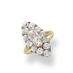 Bonhams 1793 : A diamond ring, yes that does have a pink tint