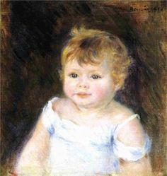 Portrait of an Infant Artist: Pierre-Auguste Renoir
