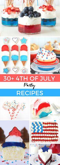 july 4th food menus