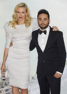 J.A. Bayona y Naomi Watts en la premiere de Lo imposible ayer en Madrid. Directora de producción: Sandra Hermida (APPA)