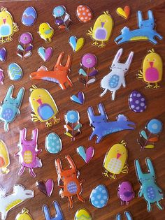 Paperchase Easter stickers