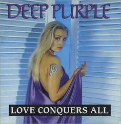 """For Sale - Deep Purple Love Conquers All - Poster Sleeve UK 12"""" vinyl single (12 inch record / Maxi-single) - See this and 250,000 other rare & vintage vinyl records, singles, LPs & CDs at http://eil.com"""