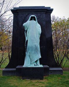 "Graceland Cemetery 4001 N. Clark St. Chicago Illinois. ""Eternal Silence"" by Loredo Taft"