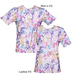Unisex All Over Print My Little Pony Friendship is Magic T-Shirt from Mr Gugu