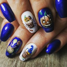 👻😈💅🕸🎃🎃 #halloween #halloweennails #halloweennailart #halloweennails2018 #mmynails #mmynailsandbeauty #mmy_nails #nailart #nailsoftheday #nailsofinstagram  #autumnnails #autumnnails2018 Nails 2018, Halloween Nail Art, Nail Arts, Nail Designs, Instagram, Ongles, Nail Desings, Nail Art, Nail Design