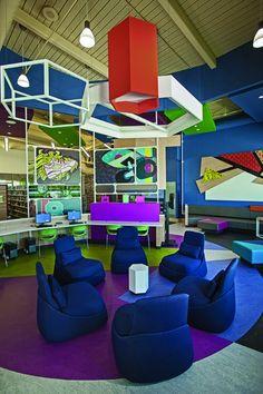 Gulf Gate Public Library Lounge