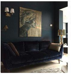 dark walls, dark rooms, portrait art