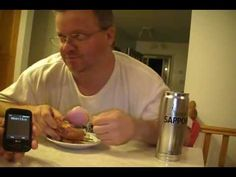 Caramel apple (oinion) eating challenge! Caramel Apples, Onion, Challenges, Eat, Caramel Apple, Onions, Bow